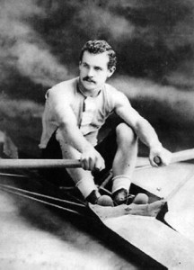 Ned Hanlan, Canada's best known athlete in the 19th Century, was raised on Hanlans Point.