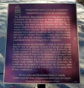 Blackburn plaque