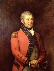 Francis' father, John Graves Simcoe by George Théodore Berthon, Archives of Ontario