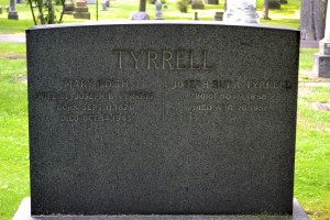 Tyrrell monument in Necropolis