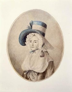 Francis' mother, Elizabeth Posthuma Simcoe