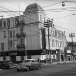 Winchester Hotel (formerly the Lake View Hotel) in 1954 (Toronto Public Library S1-1846)