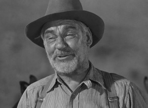 Huston in his award-winning role of Howard in The Treasure of the Sierra Madre