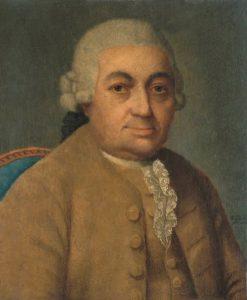Carl Philipp Emanuel Bach by Franz Conrad Löhr